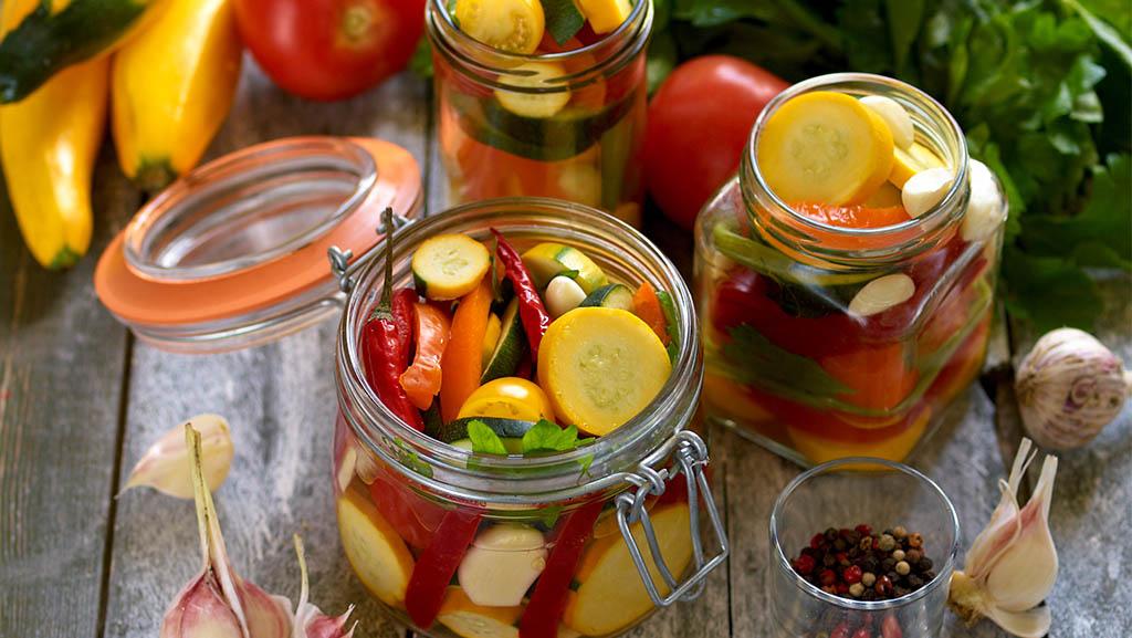 Hvordan sylte grønnsaker