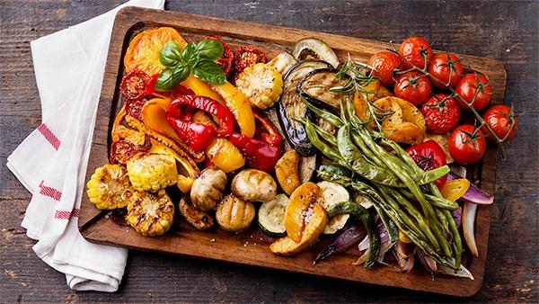 Juli: Grønnsaker på grillen!